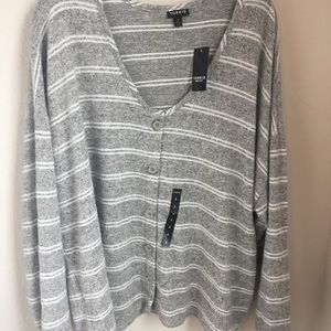 Torrid supersoft striped sweater size 3